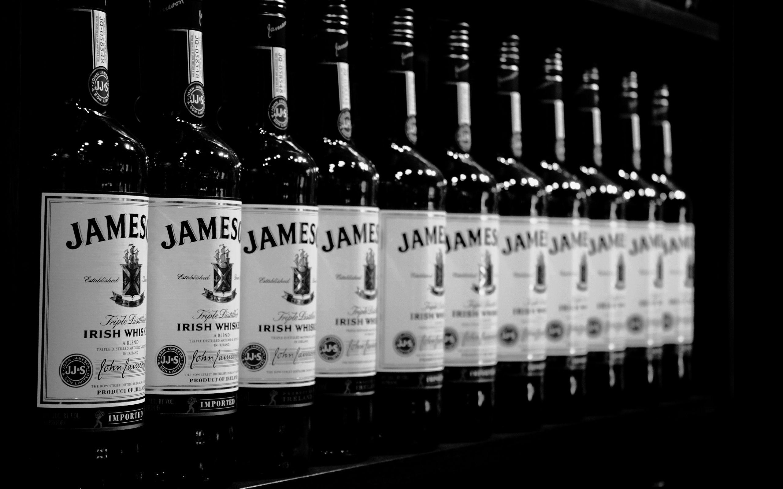 A cascade of Jameson Irish Whiskey Food Drink etc