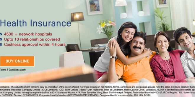 It's time to get a health insurance.   Life insurance ...