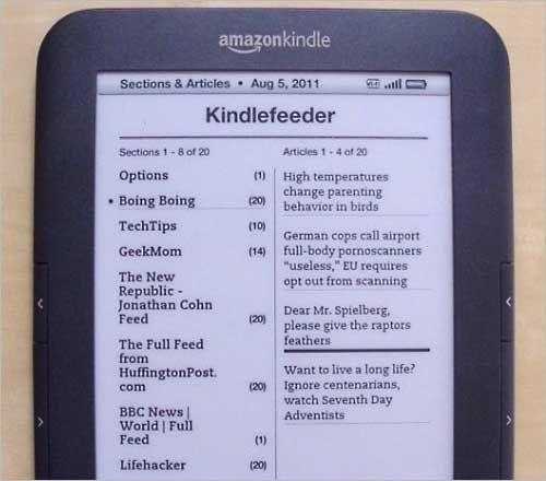 Ein paar interessante Tools für den Kindle.