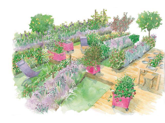 Fruits Et Legumes Du Jardin A L Assiette Jardins Jardin