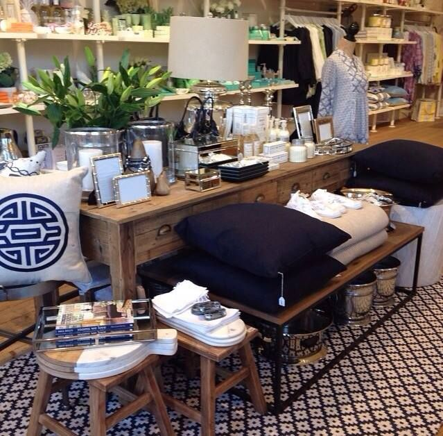 Charming Rose Street Trading   Store Styling With Samode Navy/Ivory, Indoor Outdoor  Rug By