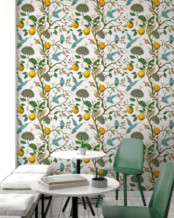 Removable Wallpaper Scandinavian Wallpaper Temporary Wallpaper Etsy Scandinavian Wallpaper Temporary Wallpaper Removable Wallpaper