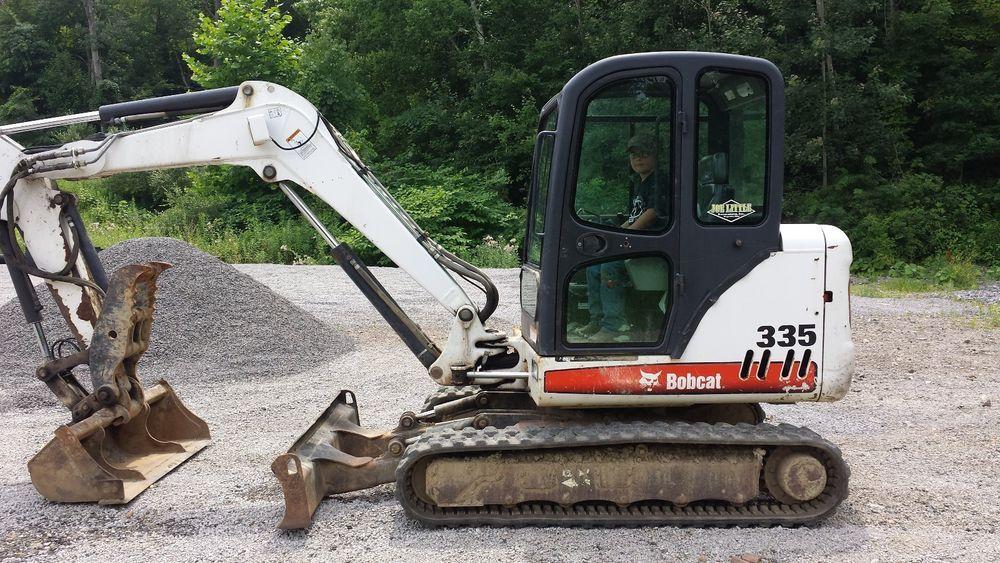 2007 Bobcat 335 with hydraulic thumb Heavy equipment