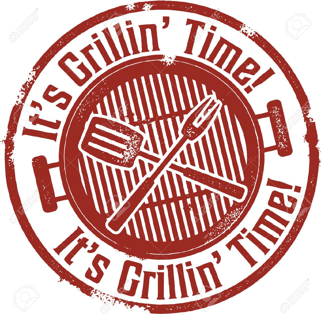 it s grilling bbq time royalty free cliparts vectors and stock illustration pic 27874236  [ 1300 x 1271 Pixel ]