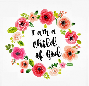 Fan image with regard to i am a child of god printable