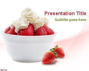 Strawberry fruit powerpoint template ppt template powerpoint templ ppt template free powerpoint template for presentations toneelgroepblik Gallery