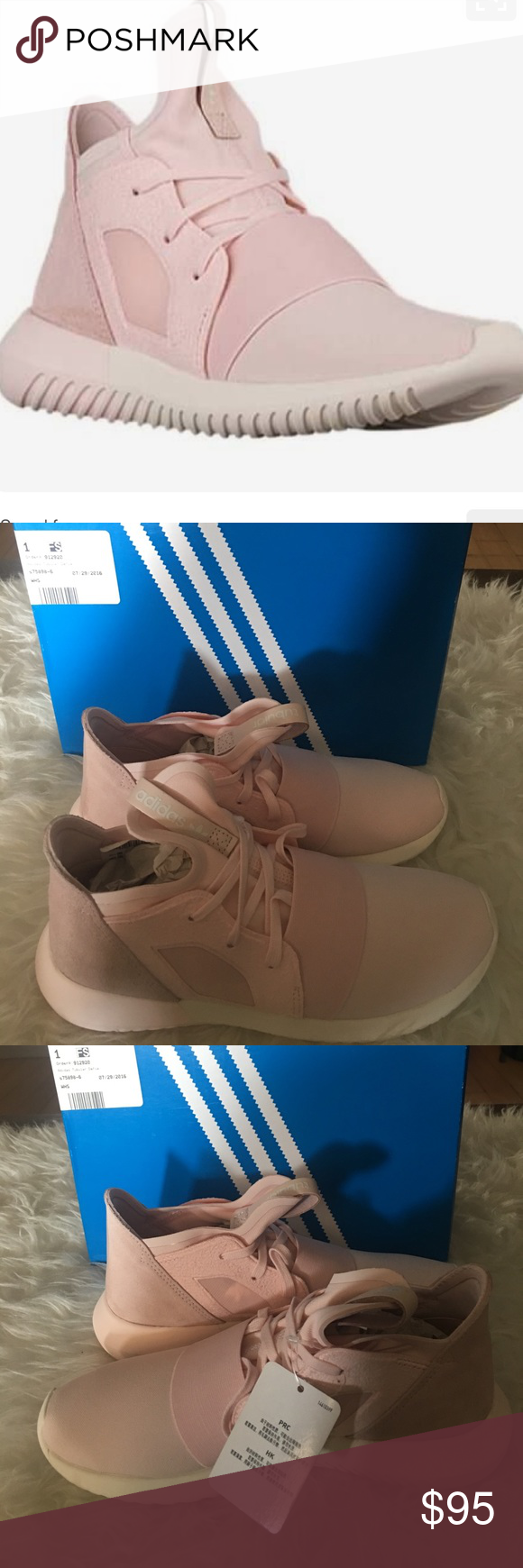 Blush pink adidas Tubular Defiant Brand new with tags adidas Shoes Athletic Shoes