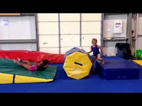 superman handstand flat back vault drill  youtube