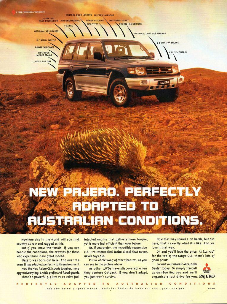 1999 Mitsubishi Pajero Gls 3 5 Litre V6 Or 2 8 Litre Turbo Diesel Aussie Original Magazine Advertisement In 2020 Electric Mirror Mitsubishi Mitsubishi Pajero