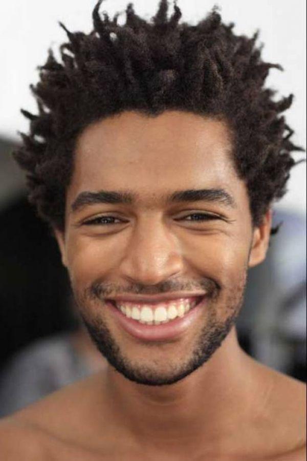 taper haarschnitt für schwarze männer in bezug auf ihre