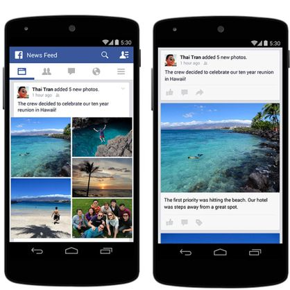 Facebook Makes It Easier To Upload Multiple Photos On Mobile With