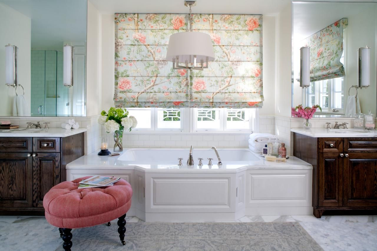 Romantic Bathroom Lighting Ideas | Traditional bathroom, Natural ...