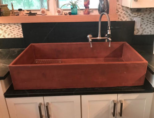 Click the photo above for Concrete Farmhouse Sinks and