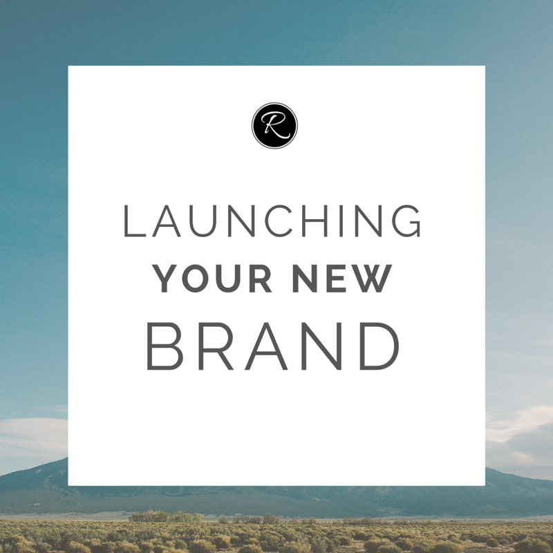 A new brand design is only the first step!    Now that you've re-branded, or created a new brand and website from  scratch, it's time to tell people about it! It's an exciting step in your  business' journey, and you want your excitement to be contagious. It takes  more than just a few twe