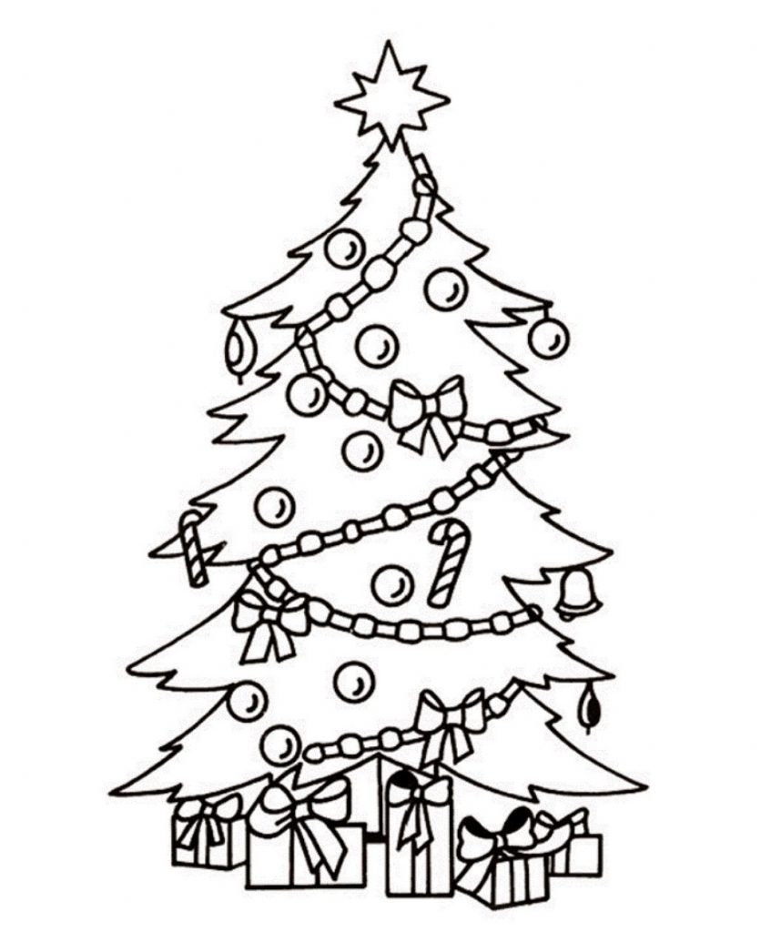 Presents Coloring Pages Best Coloring Pages For Kids Christmas Tree Coloring Page Christmas Tree Drawing Tree Coloring Page