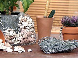 Manualidades y artesan as adornos con piedras for Utilisima jardineria