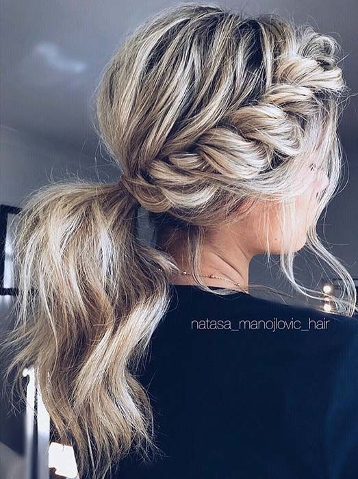 21 Popular Homecoming Hairstyles That'll Steal the Night #hairideas