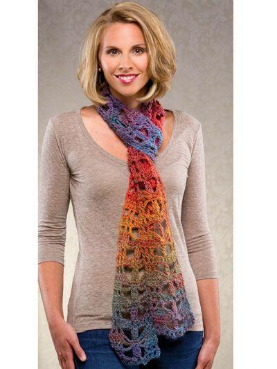 Crochet - Accessory Patterns - Scarves - Butterfly Scarf