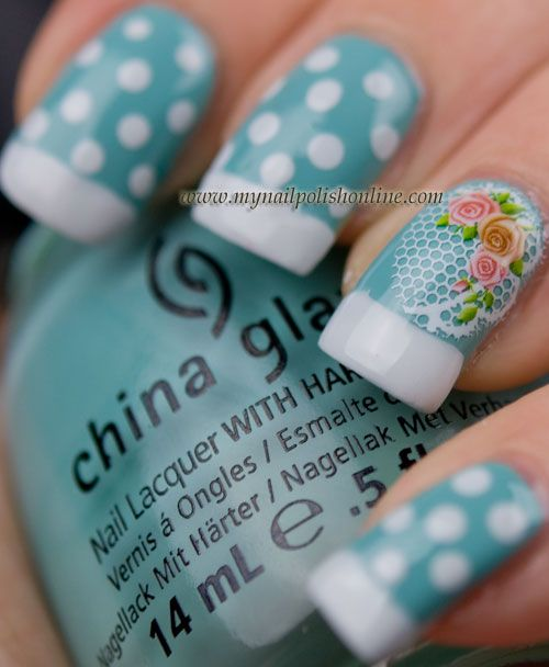 Dots And Water Decals For Nail Art Sunday Nail Polish Online
