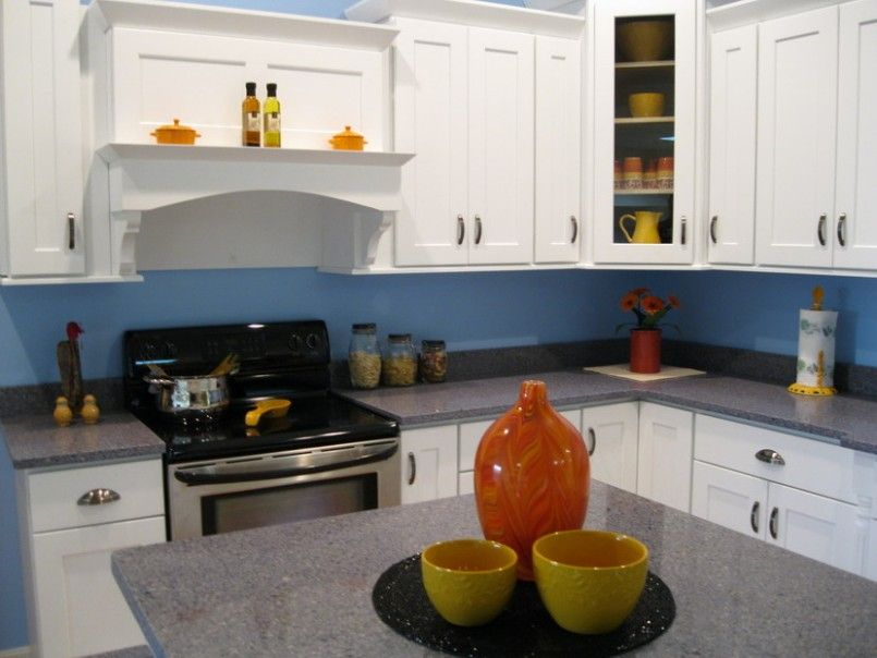 kitchen design pictures white cabinets | kitchen design with white