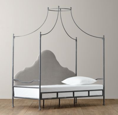 Allegra Iron Canopy Daybed | Daybeds | Restoration Hardware Baby u0026 Child & Allegra Iron Canopy Daybed | Daybeds | Restoration Hardware Baby ...
