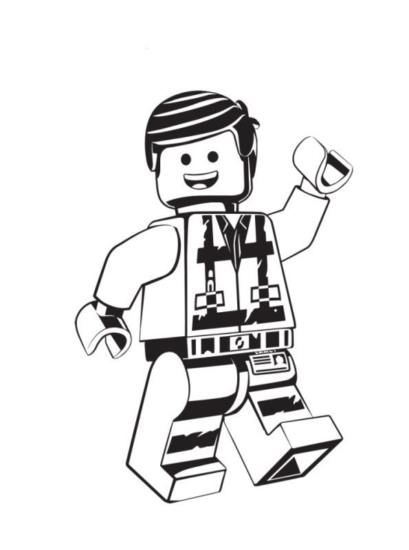 Kids N Fun Com Coloring Page Lego Movie 2 Emmet 2 Kleurplaten Lego