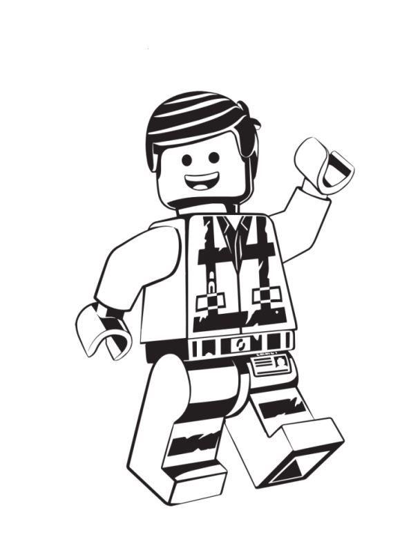 Kids N Fun Com Coloring Page Lego Movie 2 Emmet 2 Kleurplaten Lego