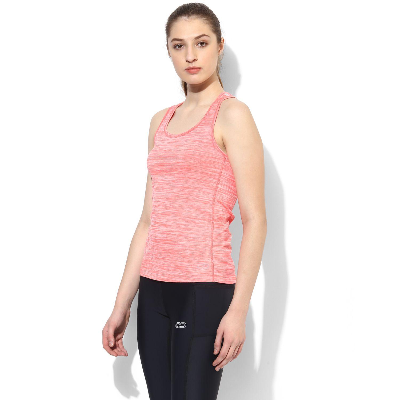 d0f62978 SILVERTRAQ MELANGE T-BACK Shop Online in India Wicking Sportswear Tank Top.  Women's Fitness, Gym Wear / Apparel. Designer Workout Wear for Yoga,  Running, ...