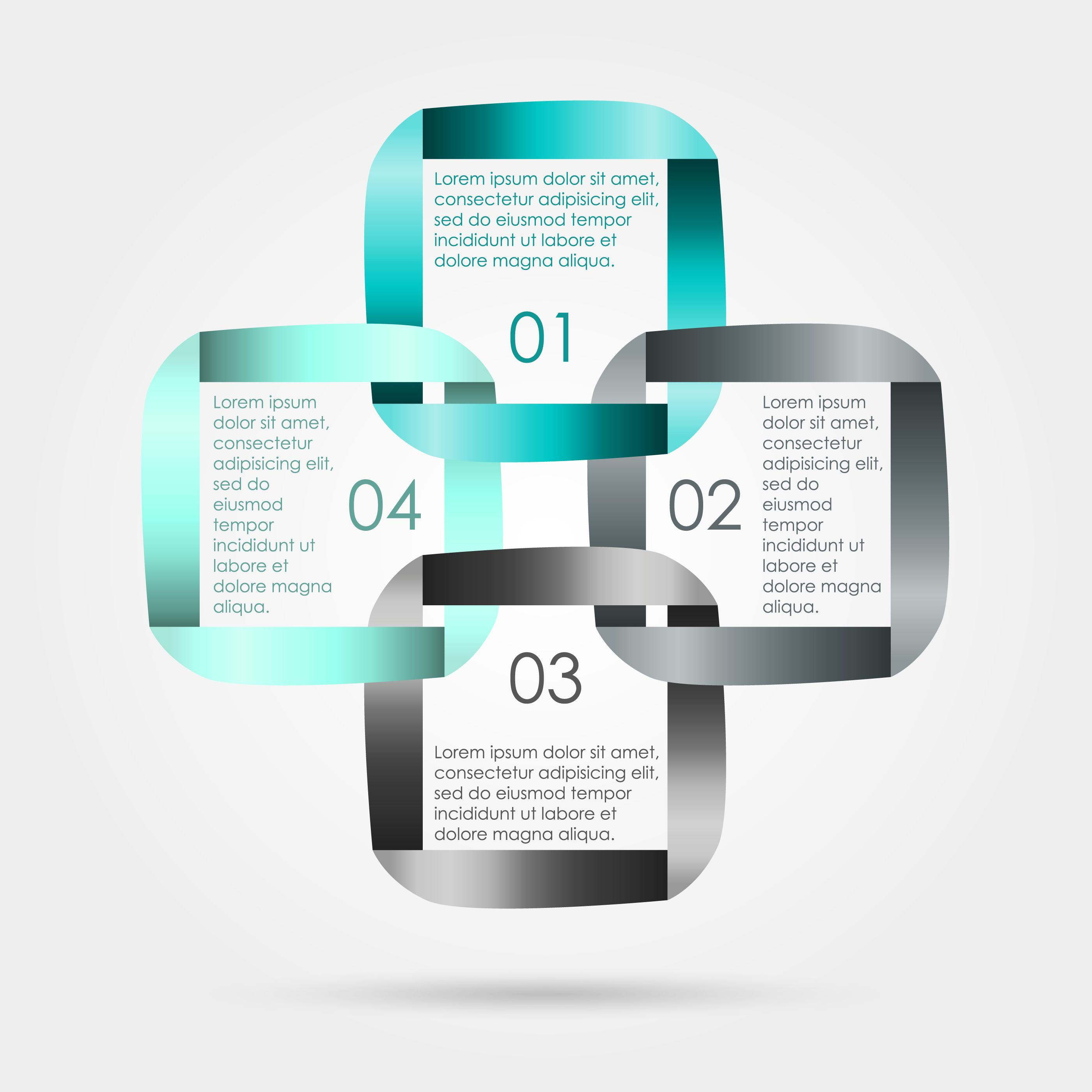 abstract business template corporate media technology style