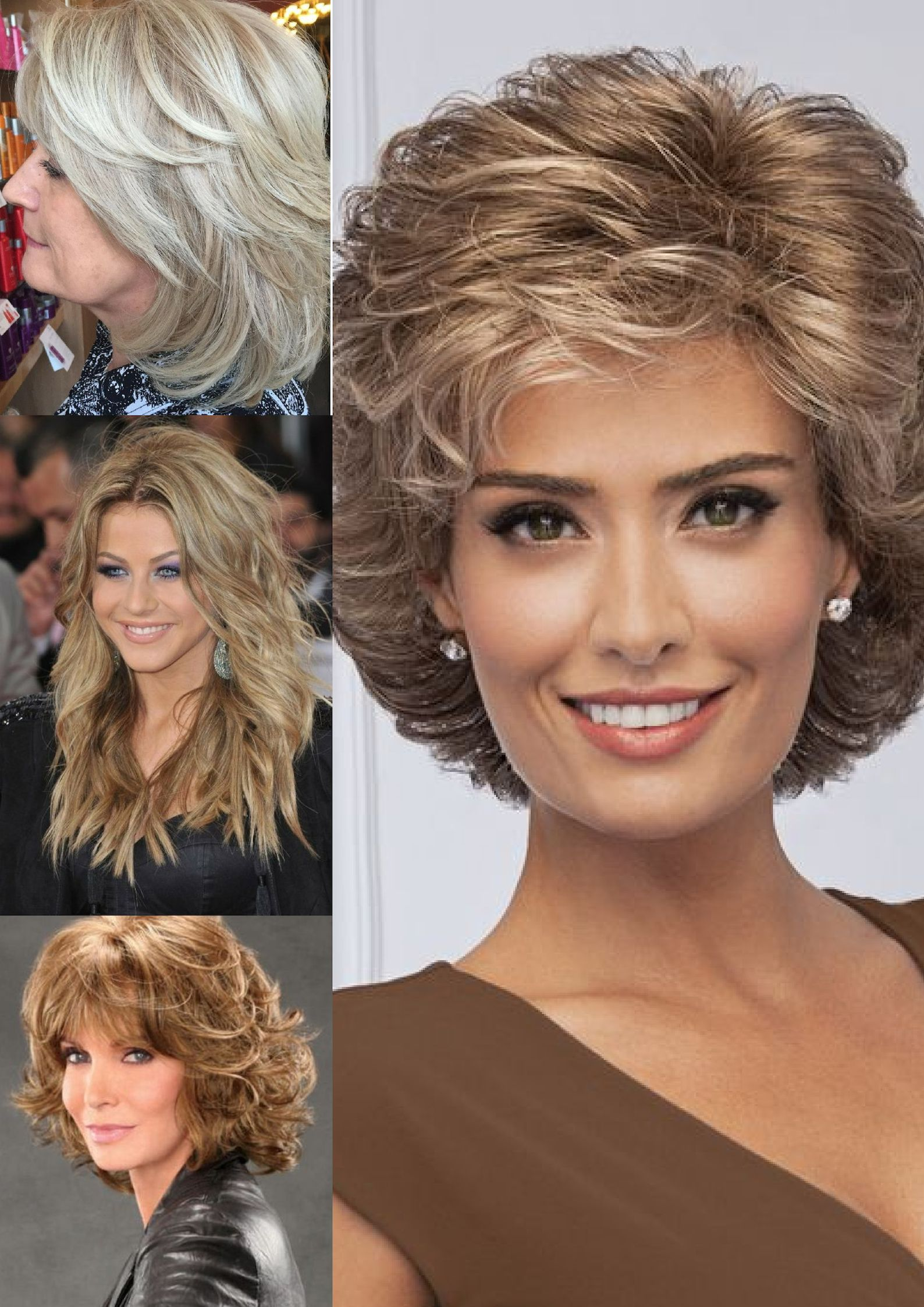 short straight hairstyles for over 50