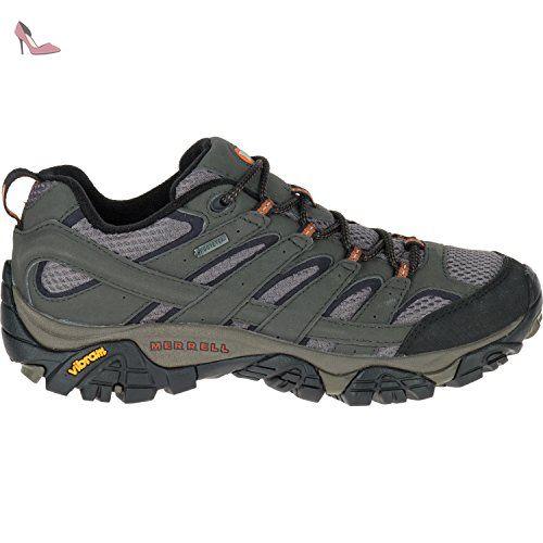 Les Femmes Moabites 2 Gtx Trekking Et Randonnée Chaussures Bas, Gris, 4 Eu Merrell