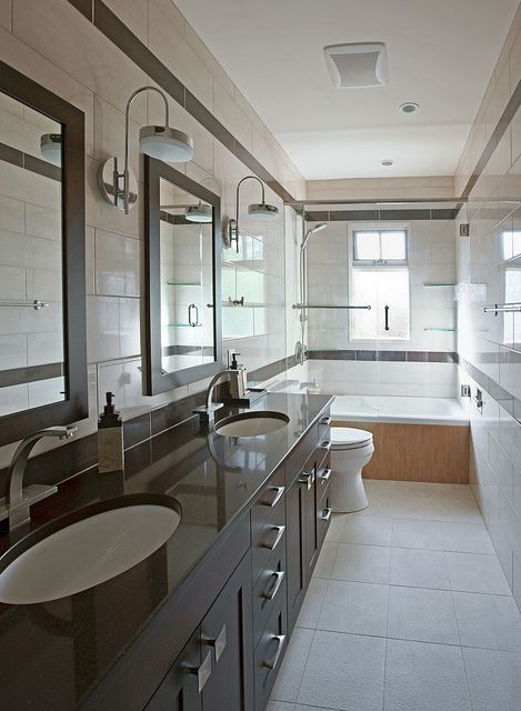 South Calgary Interior Residential Renovation Residential Renovations Modern Bathroom Bathroom Cleaning