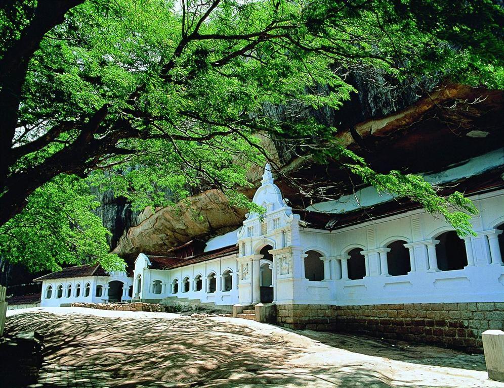 Dambulla Rock Cave Temple Dambulla Sri Lanka Beach Holiday