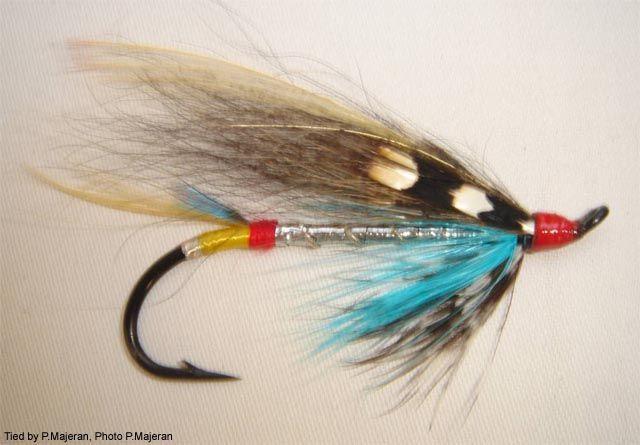 Salmon Steelhead Flies Jock Scott  #4 hairwing