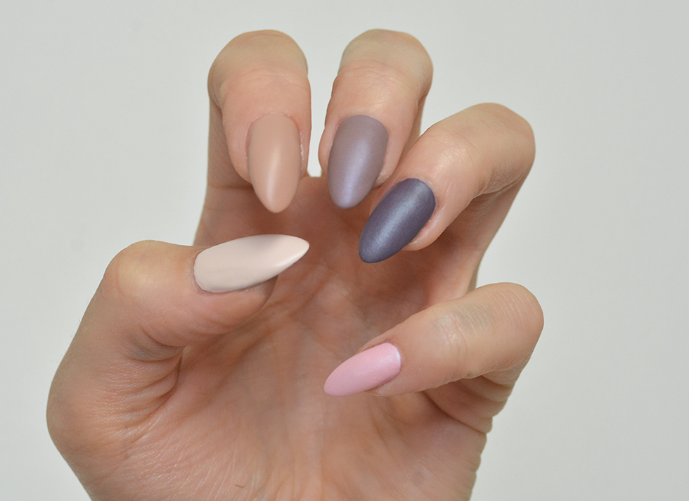 Essie: Cashmere matte collection 2015