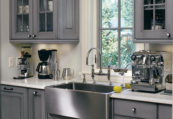 Best Grey Kitchen American Legacy I Like The Color And Open 400 x 300