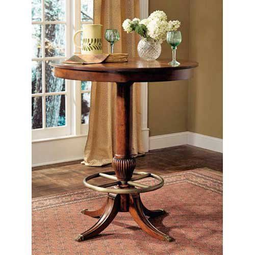Have to have it. Powell Jamestown Landing Deep Cherry Pub Table - $499 @hayneedle.com