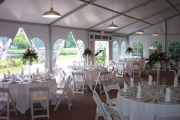 Shadow Lake Gardent Tent Wedding Outdoor Wedding Venues Rochester