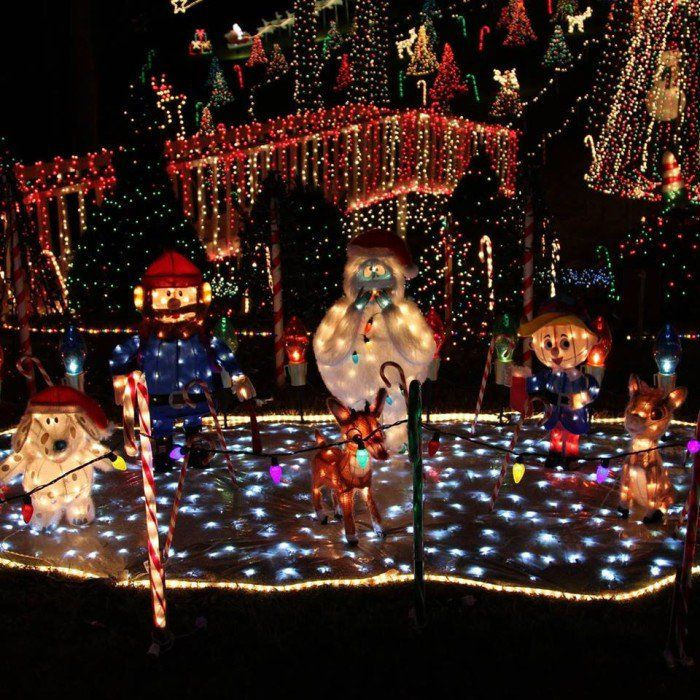 Valley Creek Lights, 213 Valley Creek Drive Clayton, NC - These 17 Places In North Carolina Have The Most Unbelievable
