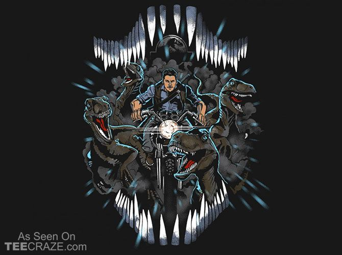The Raptor Squad T-Shirt - http://teecraze.com/the-raptor-squad-t-shirt/ -  Designed by zerobriant    #tshirt #tee #art #fashion #clothing #apparel