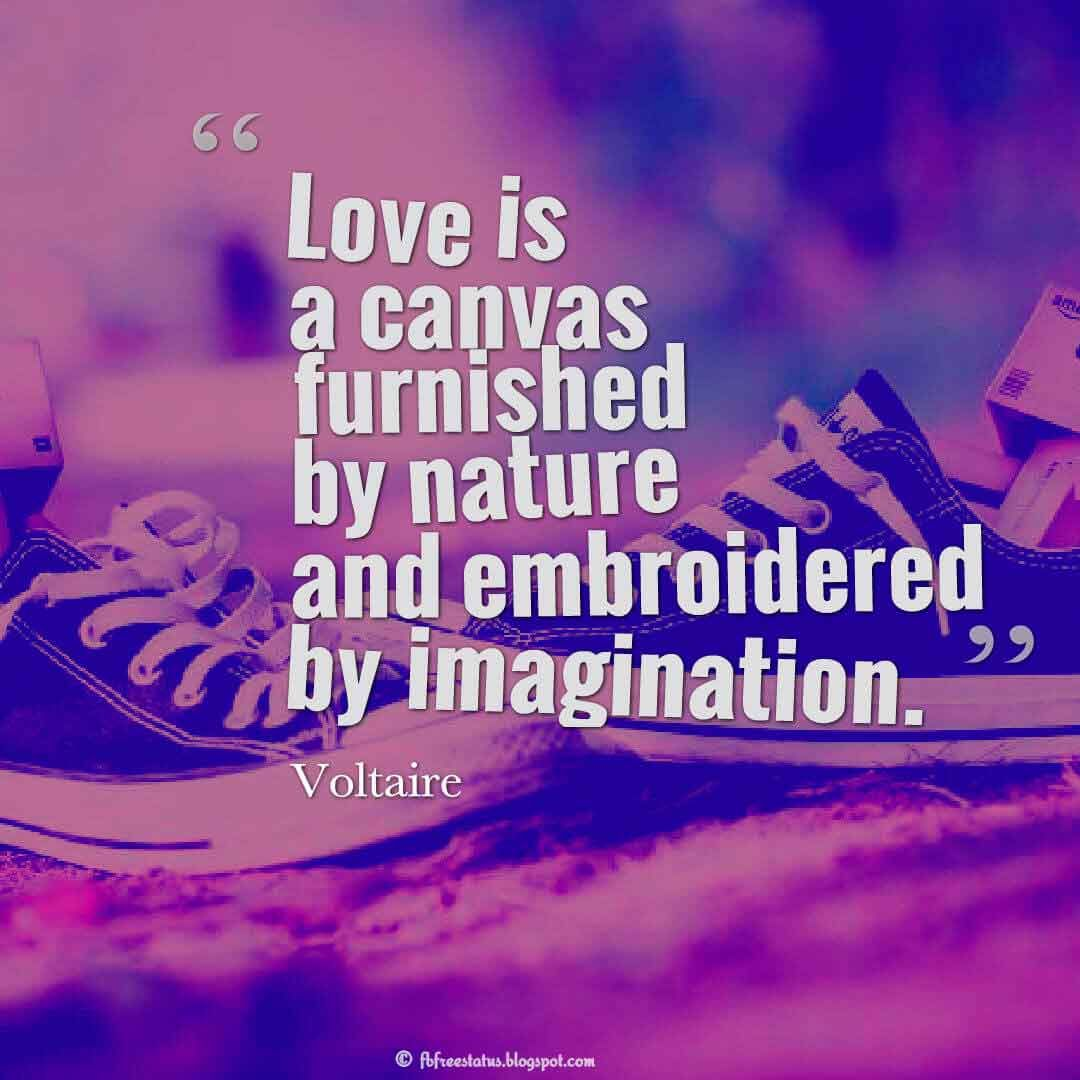 Quotes Voltaire Love Quotes From The Heart With Romantic Images & Pictures