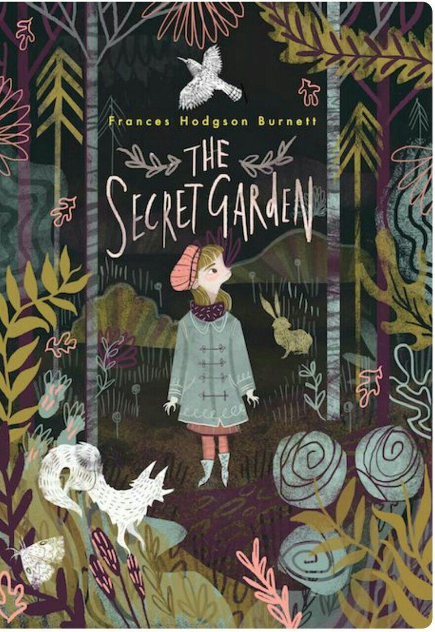 The Secret Garden Book Cover Secret Garden Book Book Cover Illustration Book Cover