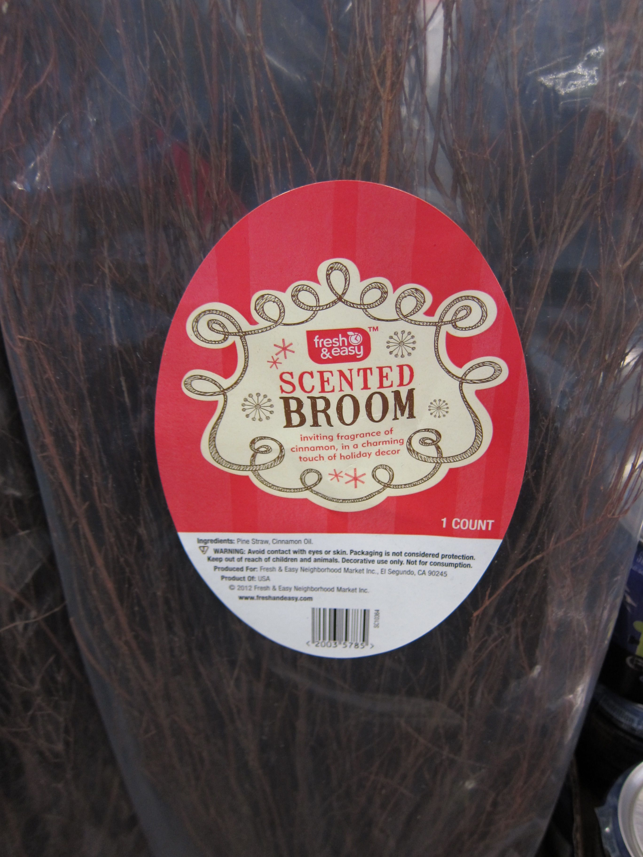 Brooms aren't just for witches – this one will make your home smell fantastic!