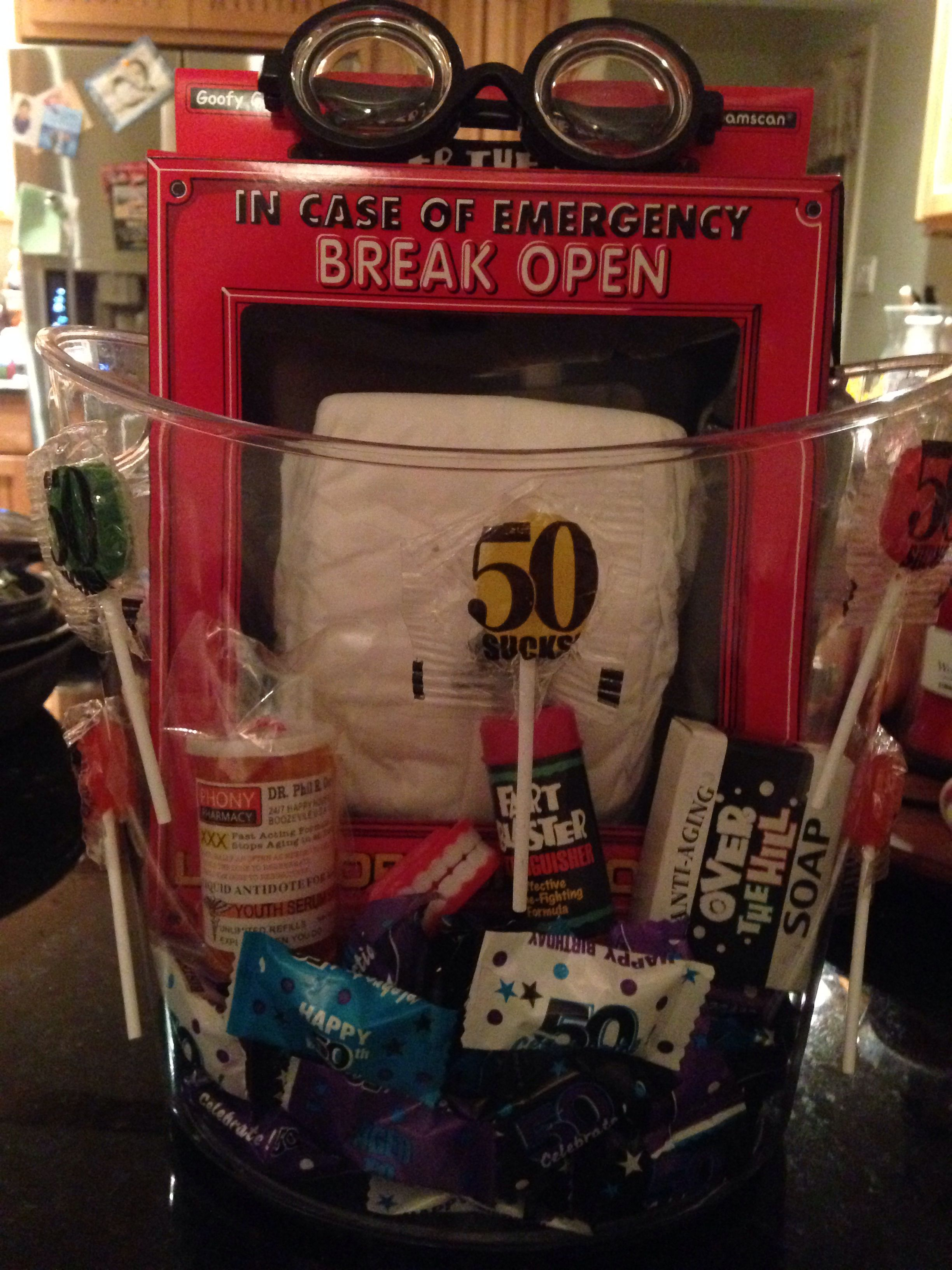 Diy Funny 50th Birthday Gift Old Man Gifts
