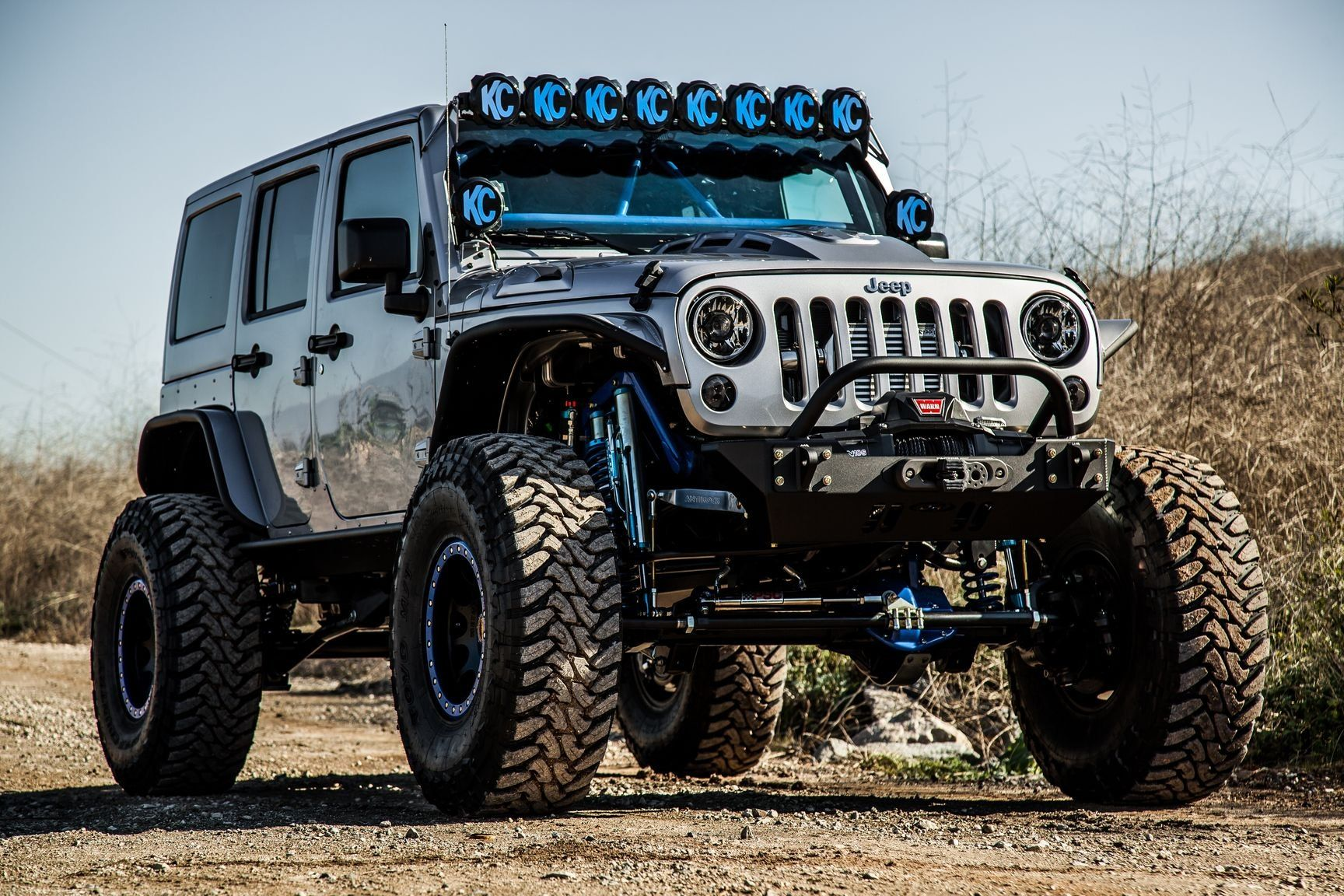 Kchilites Off Road Lights Looking Amazing On Gray Lifted Jeep Wrangler Lifted Jeep Lifted Jeep Wrangler Jeep Wrangler