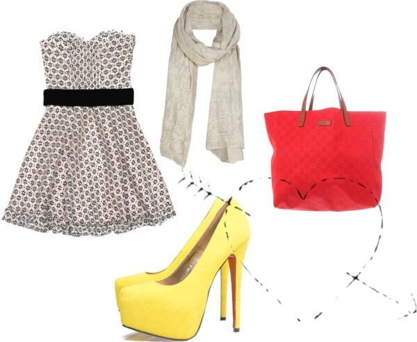 Out in the City, created by reese-o on Polyvore
