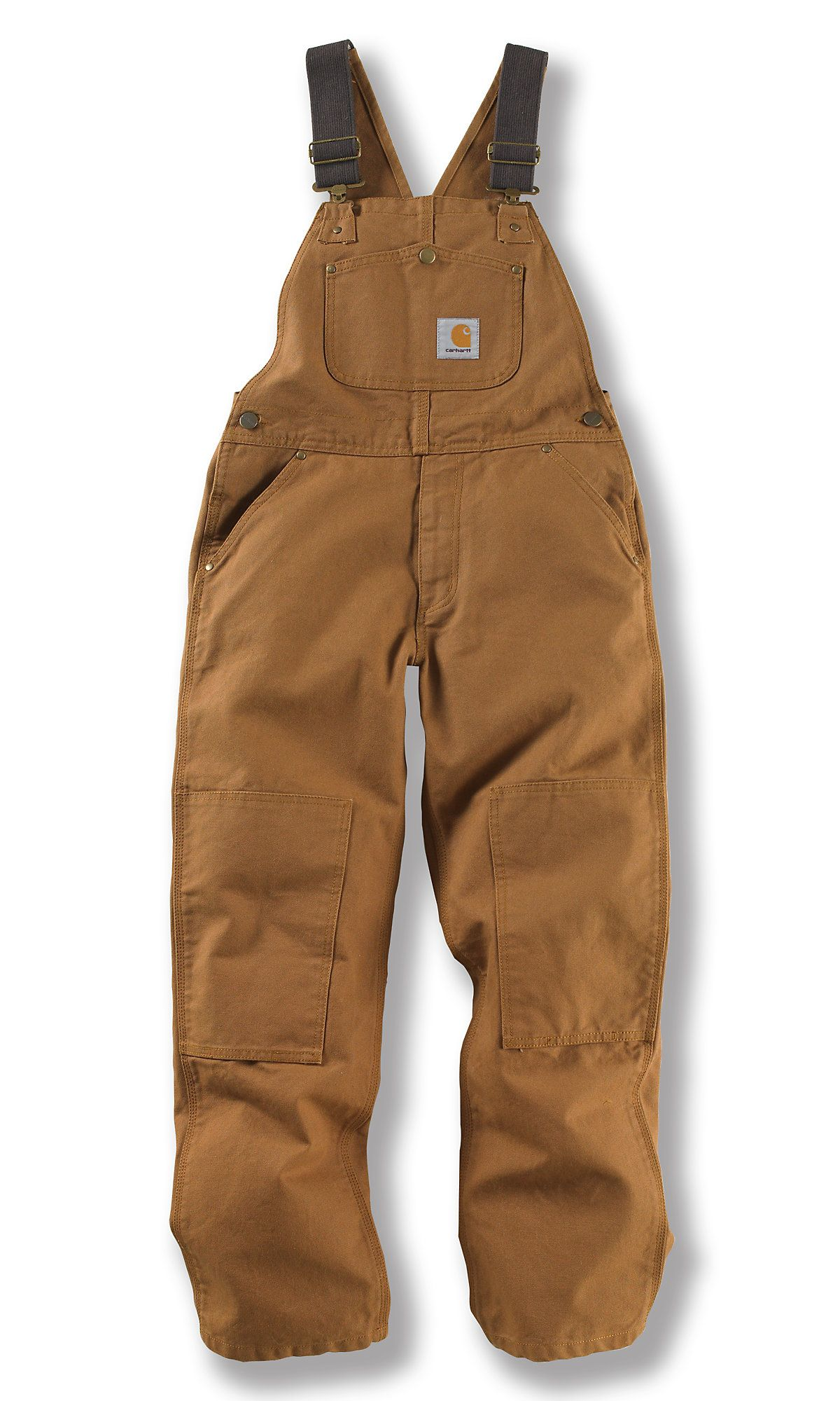 2242b0222bd02 Shop the Duck Washed Bib Overall - Sizes 8-16 for Boys' at Carhartt