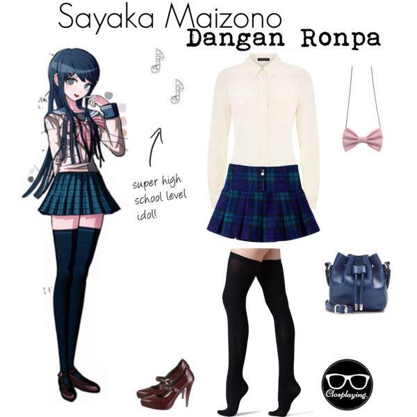 Sayaka maizono closplay dangan ronpa dr by closplaying for Haggar forever new shirts