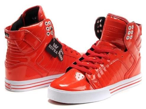 Justin Bieber Supra Muska Skytop Red Patent Shoes is quite simple and  comfortable. Fashion and stylish Justin Bieber Supra Shoes on sale at  cheaper price!