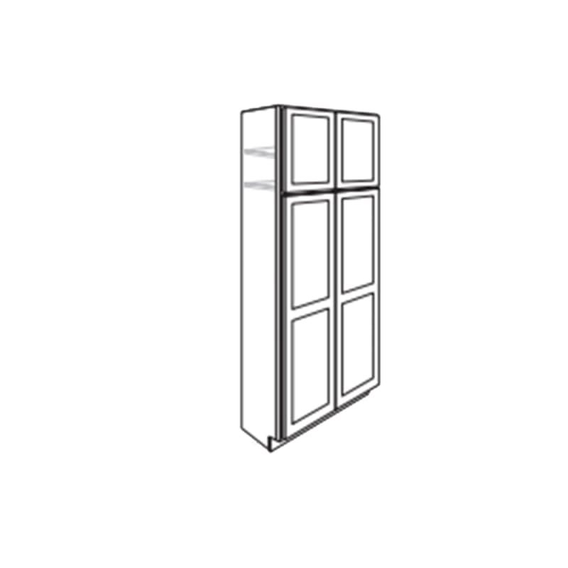Essentials Ral Mp S St All C U3084b Tall Pantry Cabinet Raised Panel Doors Staining Cabinets
